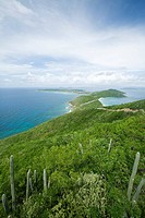 Hills and Ocean View on Virgin Gorda