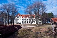 medieval Lithuanian castle Birzai