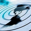 Radar Marking an Earthquake´s Epicenter