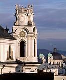 Collegiate Church (Kollegienkirche), 1707, by Johann Bernhard Fischer von Erlach (1656-1723), Universitatsplatz, Salzburg. Austria.