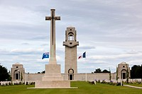 France, Picardy Region, Somme Department, Somme Battlefields, Villers-Bretonneux, Australian National War Memorial to soldiers lost during World War O...