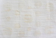 White mulberry paper with circle texture