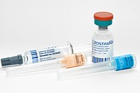 Zostavax anti_shingles vaccine, a vaccine made out of weakened chickenpox virus Herpes zoster that can help to prevent shingles in adults aged 50 or o...