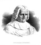 Bernard de Jussieu 1699_1777, French botanist. As a demonstrator at the Jardin des Plantes, Paris, Jussieu designed a botanical garden in which groups...