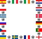 Rahmen Fußball Europameisterschaft 2012