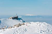 Kolejka Górska na Kasrpowym Wierchu. Góry w zimie. Tatry zim.