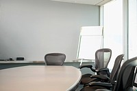 View of an empty conference room