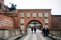 Wawel Royal Castle, Tadeusz Kosciuszko, monument, Krakow, Poland, October 25, 2012 CTK Photo/Libor Sojka