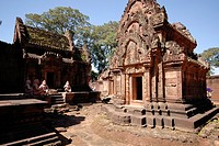 the famous Banteay Srei, Angkor Wat