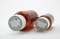Pill Bottles with Tamper_Proof Lids