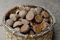 Karuppatti palm sugar unrefined brown sugar made from palm sap