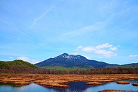 Mt.Hiuchigatake and Oze marshland