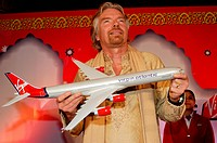 Chairman of Virgin group Sir Richard Charles Nicholas Branson launch Virgin Atlantic Airways , Bombay now Mumbai , Maharashtra , India NO MR