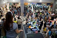The MBK is probably Bangkok´s most legendary shopping mall , Bangkok city , Thailand
