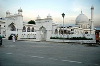 Mosque at Srinagar , Jammu & Kashmir , India