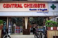 Central chemist and druggist at Bellasis road , Bombay now Mumbai , Maharashtra , India