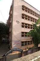 Jagannath Shankarsheth municipal English and Marathi school ; Bombay now Mumbai ; Maharashtra ; India