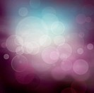 Purple abstract bokeh background