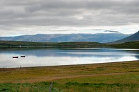 River to Akureyri in Iceland