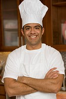 Chef Smiling with Arms Crossed