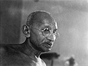 Mahatma Gandhi at Birla House , Mumbai , August 1942 , India NO MR