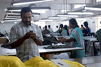 Garment industry , Tirupur , Tamil Nadu , India