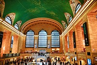 Grand Central Station Interior, New York, NY, USA