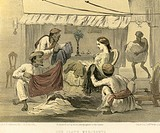 Colonial Indian images , our cloth merchants , India