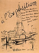 Title page for l´Exposition At Exhposition, France, 19th century