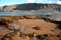 La Graciosa Island, Canary Islands, Spain
