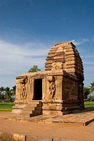 UNESCO World Heritage Site ; Kadasiddheswara temple built in seven century in Pattadakal ; Karnataka ; India