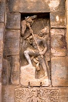 UNESCO World Heritage Site , Anthakasurasamkaramurthy sculpture in Virupaksha temple is Dravidian architecture built by queen Lokamahadevi eight centu...