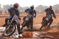 Golf cup dirt track racing , Jodhpur , Rajasthan , India