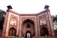 Entrance of Humayun tomb , Delhi , India
