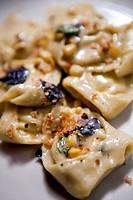Vegetable and Cheese Filled Raviolis
