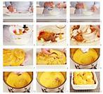 Chicken tikka masala being made German Voice Over