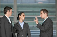 Group of Businesspeople Talking