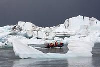 Iceberg lagoon.