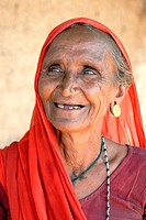 Old woman , Amreli , Gujarat , India MR781O