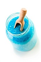 blue bath sea salt