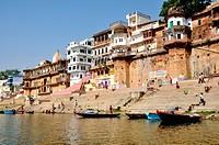 Raj Ghat , Varanasi , Uttar Pradesh , India