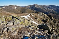 The Cuerda Larga from Maliciosa peak  Sierra de Guadarrama  Madrid  Spain