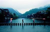 Old town,Hunan,China
