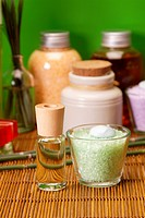 Spa and beauty, aroma and oils