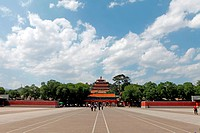 Scenery of Outer Eight Temples in Changde Resort