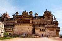Jahangir Mahal , Orchha , Madhya Pradesh , India