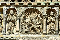 Medieval Sculptures from the facade of St Mark´s Basilica, Venice