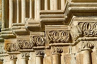 Detail of Santa María la Mayor church 13th-16th century  Trujillo  Cáceres  Extremadura  Spain
