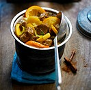 Lamb and orange Tajine