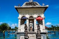 Asia, South-East Asia, Indonesia, Bali. Water Palace Taman Ujung Soekasada.
